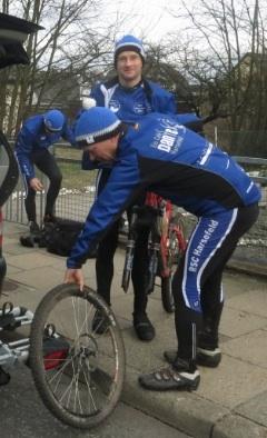 Ausschnitt auf Foto von Helmut (HFS) nach CTF RG Uni Hamburg